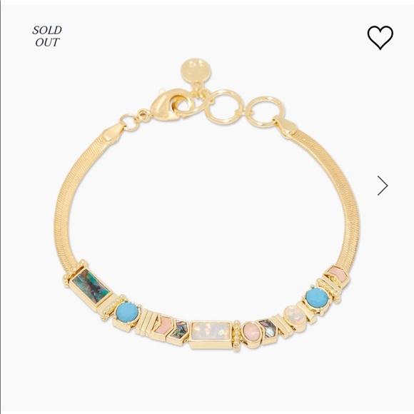 NWT Gorjana Venice Gem bracelet